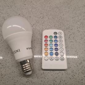 LED Colour Changing Bulb
