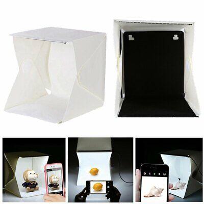 Caja Cubo de Luz LED Para Hacer Foto, Estudio Iluminación Fotografía Caja de Luz