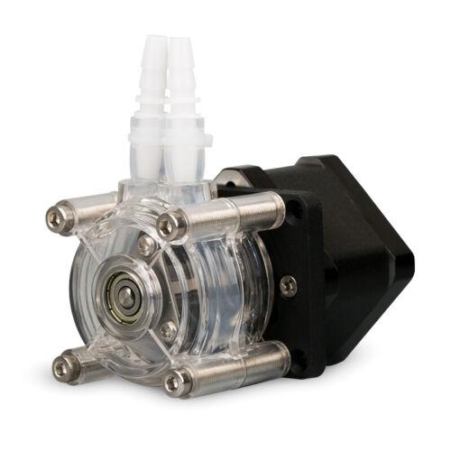 Transparent Head Stepper Motor Peristaltic Pump Miniature 3-Roller POM Low Cost
