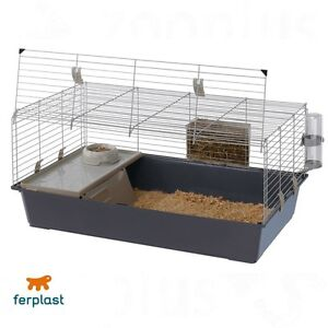 Ferplast Rabbit and Guinea Pig Cage 100 Home Garden ...