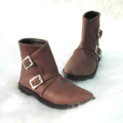 1//3 BJD Shoes Buckle Spliced Short Boots for SD Dollfie Doll EID LUTS DOD AOD
