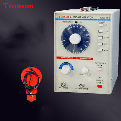220v110v Tag-101 Low Frequency Audio Signal Generator Signal Source 10hz-1mhz Y