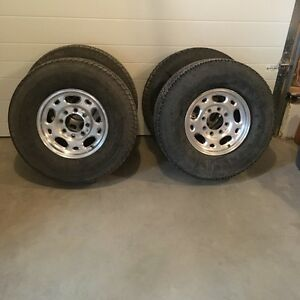 GMC 2500 Rims and tires