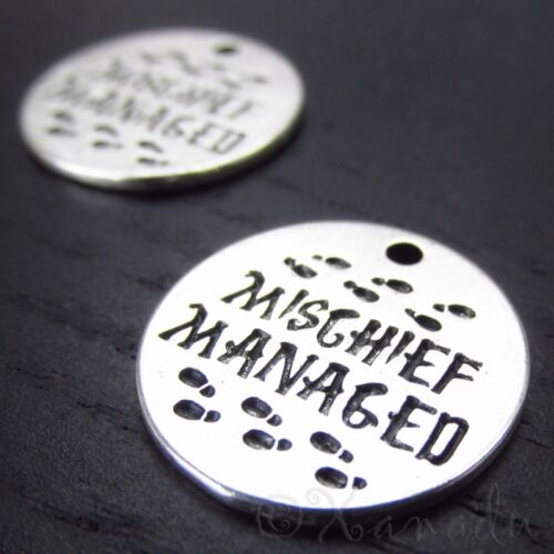 Mischief Manage Harry Potter Marauders Map Charms CC2021 - 2, 5 Or 10PCs