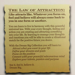 The Law of Attraction - Vision Book Kitchener / Waterloo Kitchener Area image 5