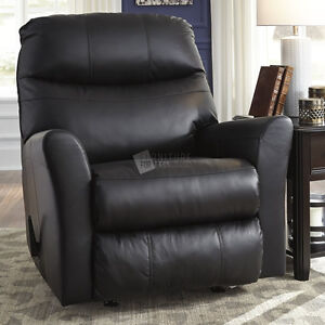 Ashley Furniture - Manual Recliner Leather  (Pranav Collection) 50% OFF Retail Prices!
