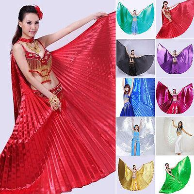 Frauen, ägyptische Kostüme (Frau Ägyptisch Flügel Bauchtanz Tanz Kostüm Flügel Tanz Tragen Einheitsgröße)