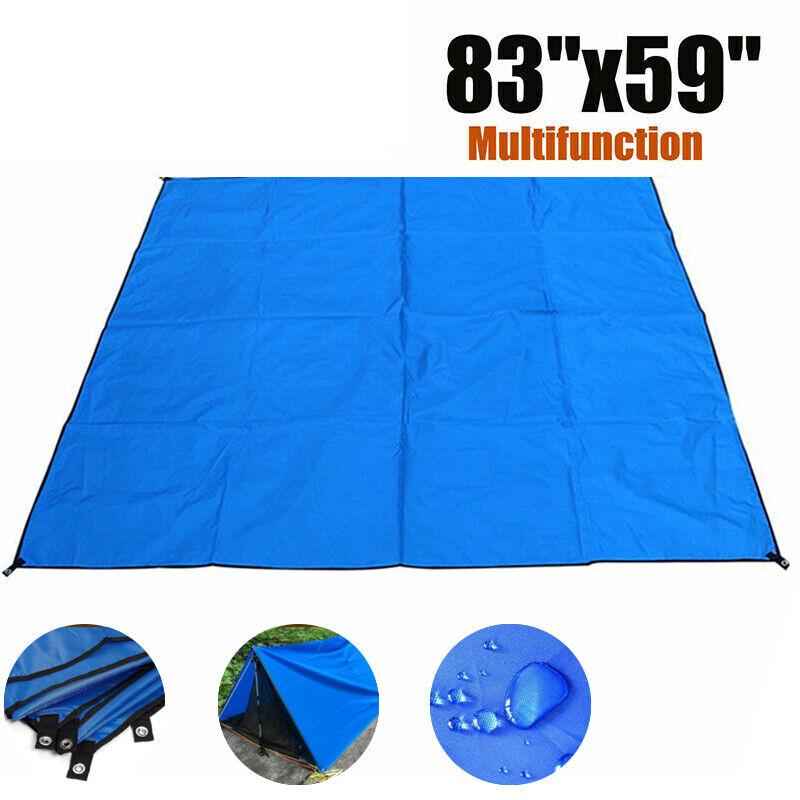 Portable Camping Tent Tarp Mat Waterproof Outdoor Garden Canopies Picnic Pad Mat