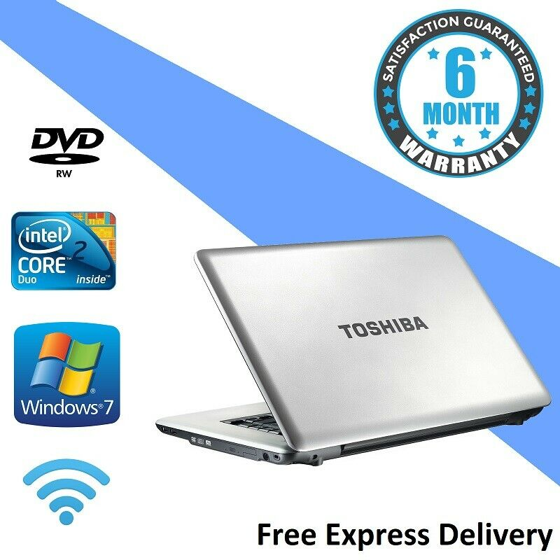 Laptop Windows - Toshiba L450-13L Windows 7 Laptop - 2.00Ghz | 3GB | 160GB | DVDRW | Webcam