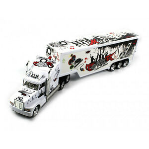 KING HAULER SPEED TRUCK RC REMOTE CONTROL CONTAINER CARGO TRAILER TRACTOR NEW WH