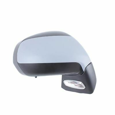 Peugeot 3008 2009  Electric Adjust Wing Door Mirror Primed Cover Drivers Side