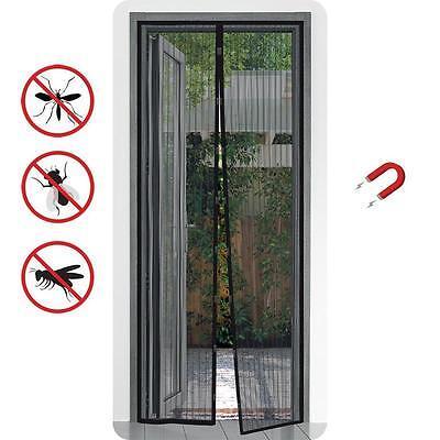 Insektenschutz Magnet 100x210 Fliegengitter Tür Mückenschutz Vorhang Fliegennetz