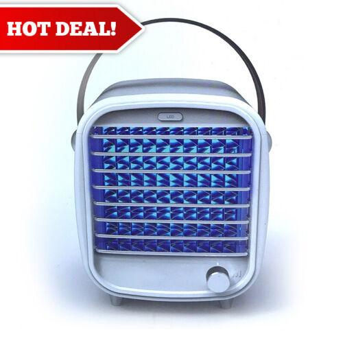 Blaux Classic Desktop AC with Fan Adjustment Dial & Mood Light