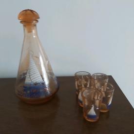 Decanter & glasses