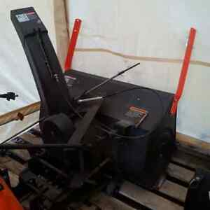 2002 Ariens 20 hp lawntractor, snowblower, + csb