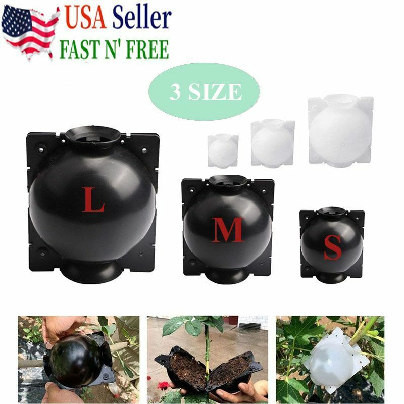 New Plant Rooting Device High Pressure Propagation/Ball Box Growing/Grafting US