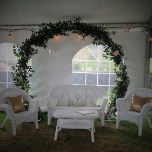 Circle arbor/arch for rent for weddings and events