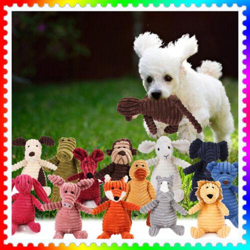Quietscher Hund Spielzeug Hundespielzeug Plüsch Kauspielzeug Welpen Kauen Toy DE