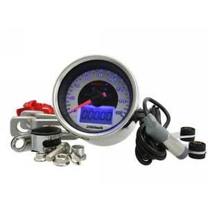 Contachilometri Koso GP Style D.55mm 0-260 km/h, bianco