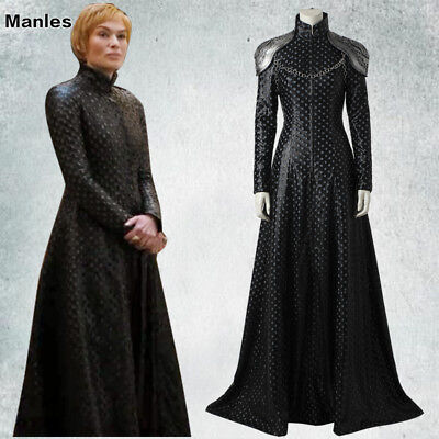 Game of Thrones 7 Queen Cersei Lannister Costume Cosplay Halloween DELUXE - Cersei Lannister Dresses