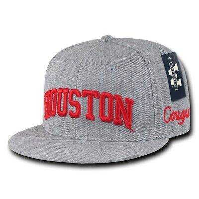 NCAA University of Houston Cougars Game Day Fitted Caps Hats Houston Cougars Hat