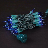 LED Blue and Green Christmas Lights