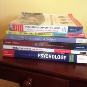 NSCC Social Services  Year 1 Books