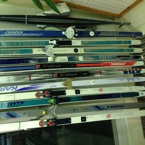 Some Cross Country skis & boots