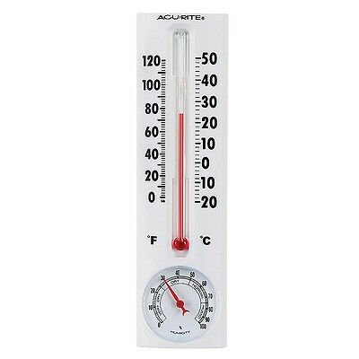 ACURITE 339 DIAL THERMOMETER HUMIDITY FOR CHICKEN POULTRY QUAIL EGG INCUBATOR