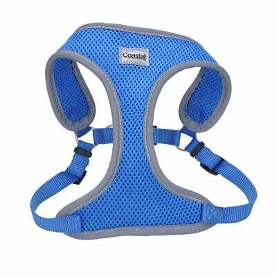 Coastal Pet Comfort Soft Reflective Wrap Adjustable Dog Harness - Blue Lagoon...