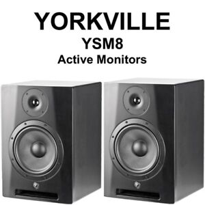 YORKVILLE YSM8 STEREO MONITORS - HARDY USED - $400 OBO