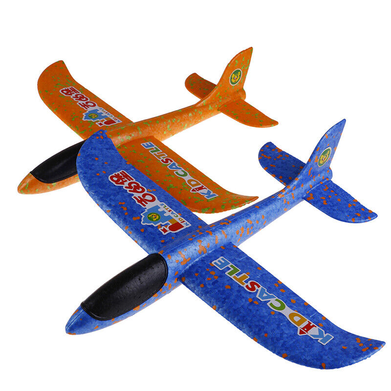 34cm DIY Hand Throw Flying Glider Planes Toys For Child Foam
