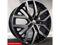 "**18"" San Diego Alloys & tyres for VW Golf MK5 MK6 MK7 Jetta Caddy Seat Leon Audi A3 etc**"