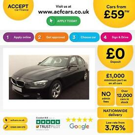 BMW 320 2.0TD d BluePerformances FROM £59 PER WEEK !
