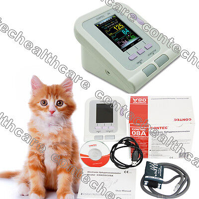 Veterinary Vet Digital Blood Pressure Hrnibp Colour Monitorcuffsswcecontec