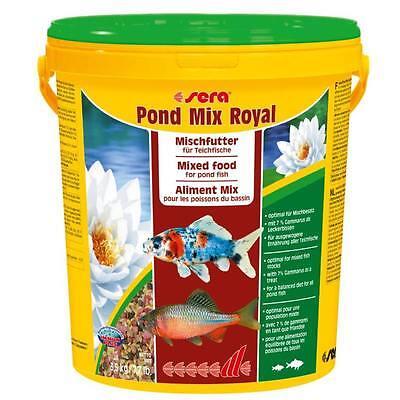 21 Liter sera pond mix royal - Fischfutter Gartenteich - Goldfische, Teichfische