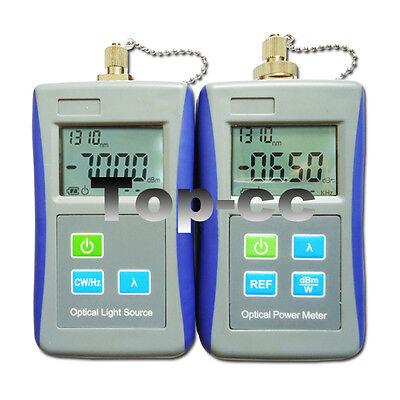 Fiber Optical Light Source Handhe Optical Power Meter With Fc Adapter Ftth Tool