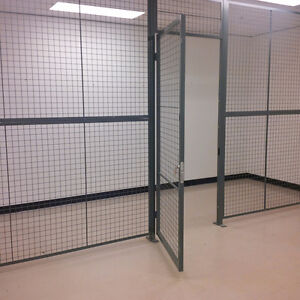 Security Cage for computer room
