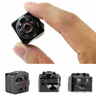 SQ8 Full HD 1080P Mini Car DV DVR Camera Spy Hidden Camcorder IR Night Vision US