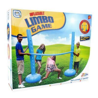 INFLATABLE LIMBO POLE STAND SET GARDEN FUN GAMES PARTY OUTDOOR BALANCE FAMILY  (Limbo Poles)