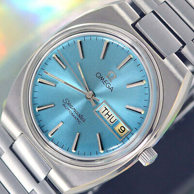 VINTAGE OMEGA Seamaster AUTOMATIC 23 J CAL.1022 DAY&DATE ANALOG DRESS MENS WATCH