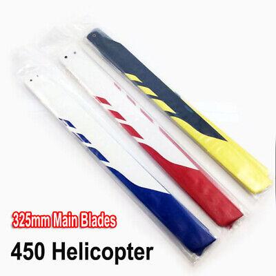 325mm Glass Fiber Main Rotor Blades for Trex Align 450 PRO DFC V3 RC Helicopter 450 Glass Fiber