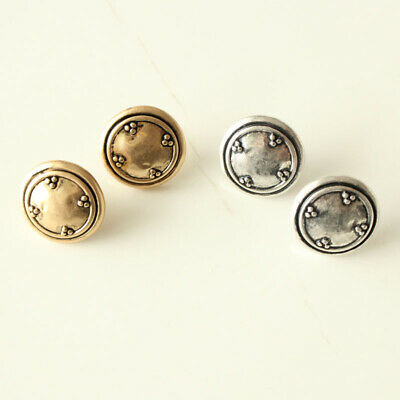 New Chicos Floral Button Stud Earrings Gift Vintage Women Jewelry 2Colors Chosen