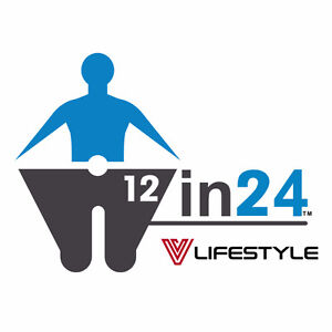 Lose 12 inches or 12 pounds in 24 days with the 12in24 Plan