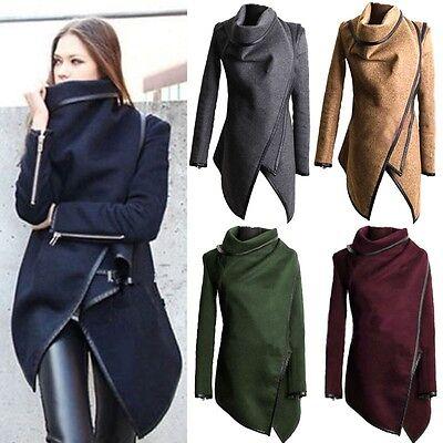 Winter Damen Duffle Coat Trench Blazer Be attracted to Mantel Jacke Lange Parka Winterjacke
