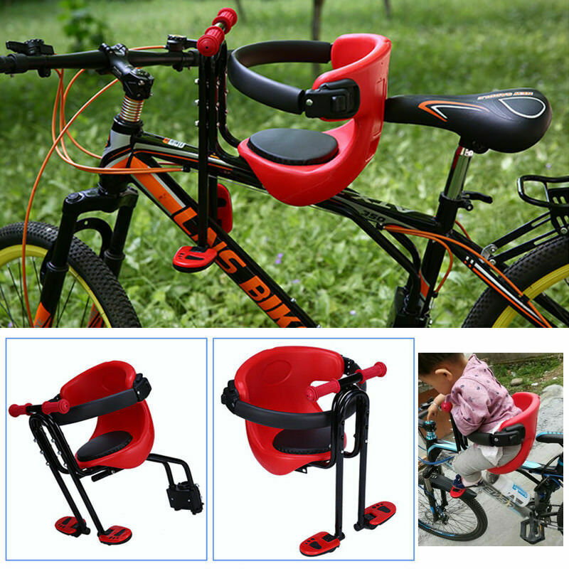 Bicycle Chair Carrier Baby Bike Safety Toddler Child Seat Sport Soft Cushion