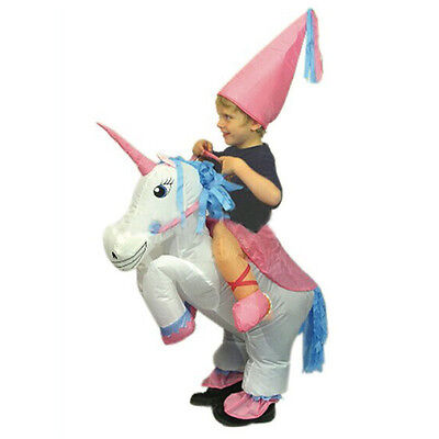 Kids Children Unicorn Inflatable Costume Funny Carnival Costumes For Kids - Kids Halloween Costumes Funny