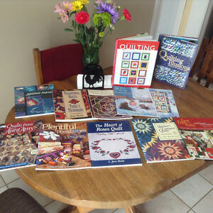 Quilting Books, patterns