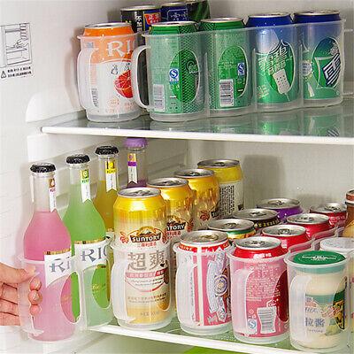 Küche Kühlschrank Schrank Getränke Space Saver Lagerregal Regalhalter 4Abschnitt - 4 Regal Space Saver