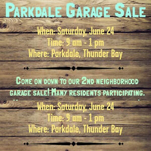 Parkdale Annual Garage Sale - Cougar Cres.